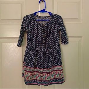 Carters Paisley Boho Dress 3T
